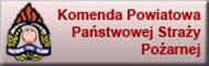 Baner: Komenda Powiatowa PSP w Żarach
