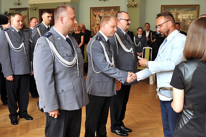 Ilustracja do informacji: Święto Policji w Żarach