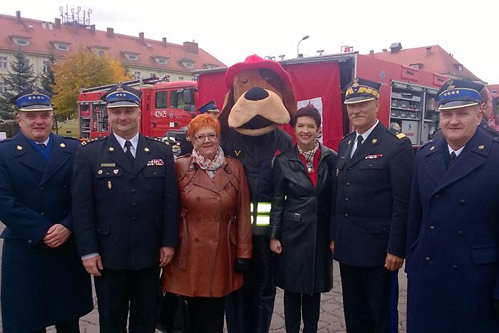 Ilustracja do informacji: Sprzęt dla lubuskich strażaków