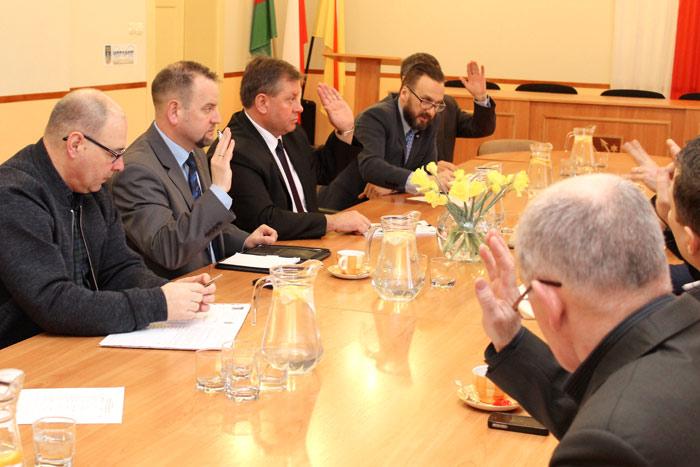 Ilustracja do informacji: Spotkanie Zarządu OSP