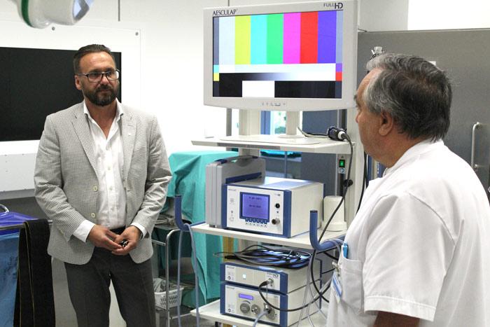Ilustracja do informacji: Nowoczesny laparoskop w powiatowym szpitalu