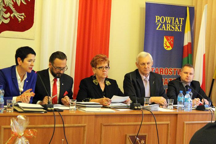 Ilustracja do informacji: XXIII sesja Rady Powiatu Żarskiego