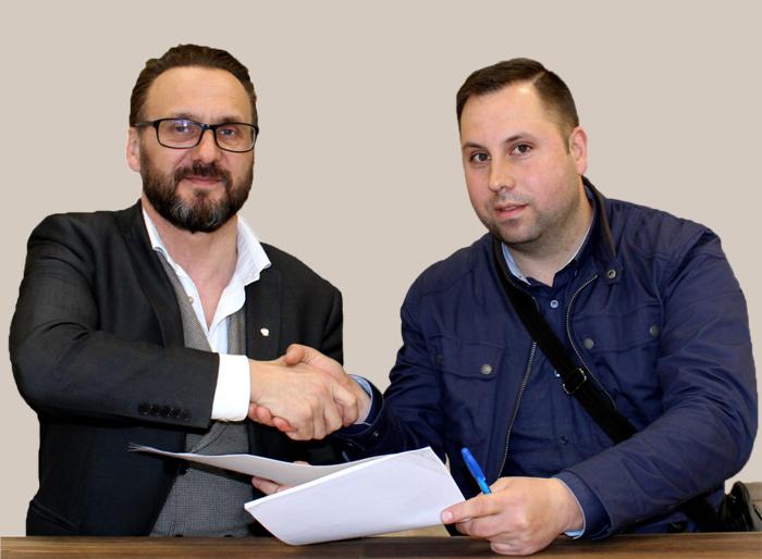 """Ilustracja do informacji: Podpisanie umowy z wykonawcą prac nad zalewem """"Karaś"""" w Lubsku"""