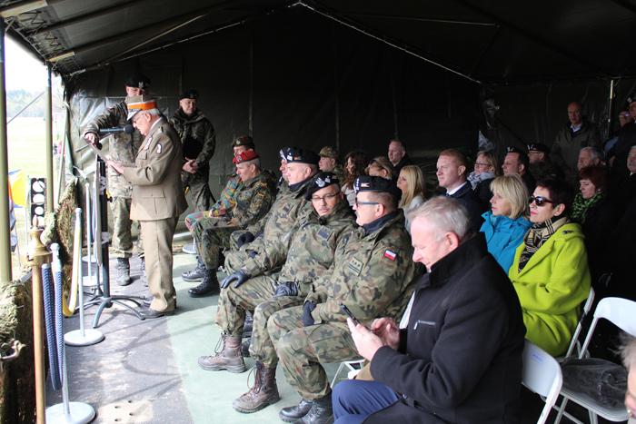 Ilustracja do informacji: Święto 34 Brygady Kawalerii Pancernej z Żagania