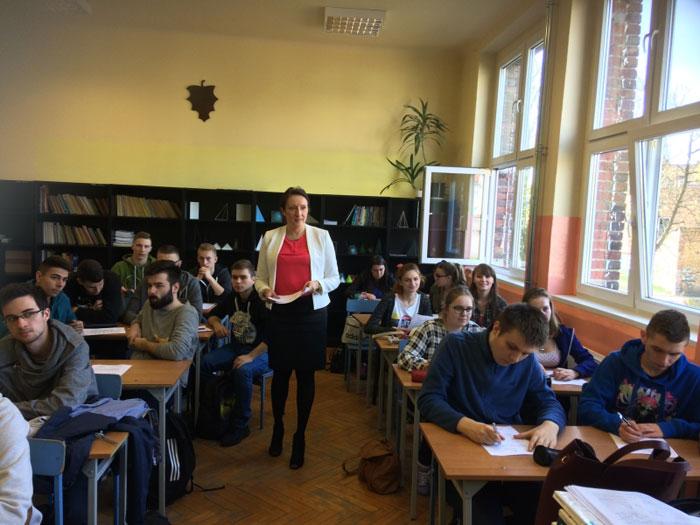Ilustracja do informacji: Organizacja Pracodawców Ziemi Lubuskiej w wizytami w szkołach w Żarach i Lubsku
