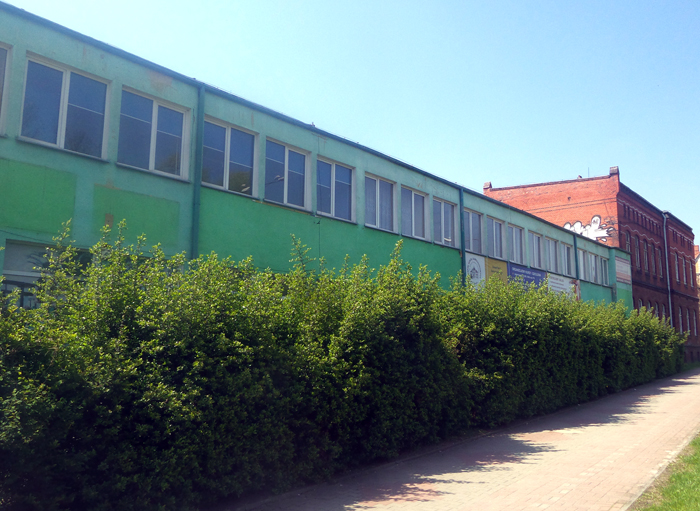 """Ilustracja do informacji: Remont warsztatów i pracowni szkolnych w CKZiU w Żarach idzie """"pełną parą"""""""