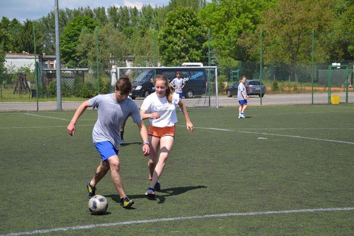 Ilustracja do informacji: VI Wojewódzki Turniej Piłki Nożnej Domów Dziecka