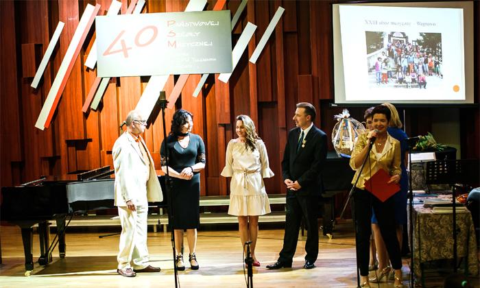 Ilustracja do informacji: Jubileusz 40-lecia Państwowej Szkoły Muzycznej I stopnia w Żarach