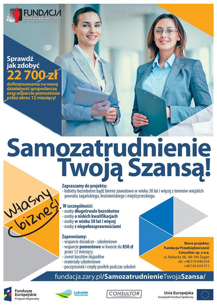 Ilustracja do informacji: Wsparcie dla samozatrudnienia