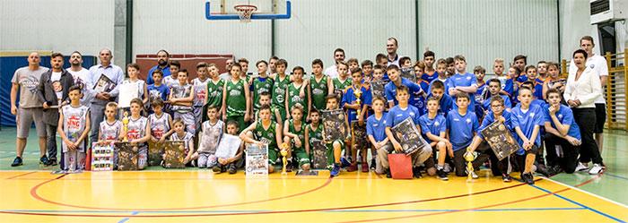 Ilustracja do informacji: Turniej U12 w Mini Koszykówce o Puchar Starosty Żarskiego