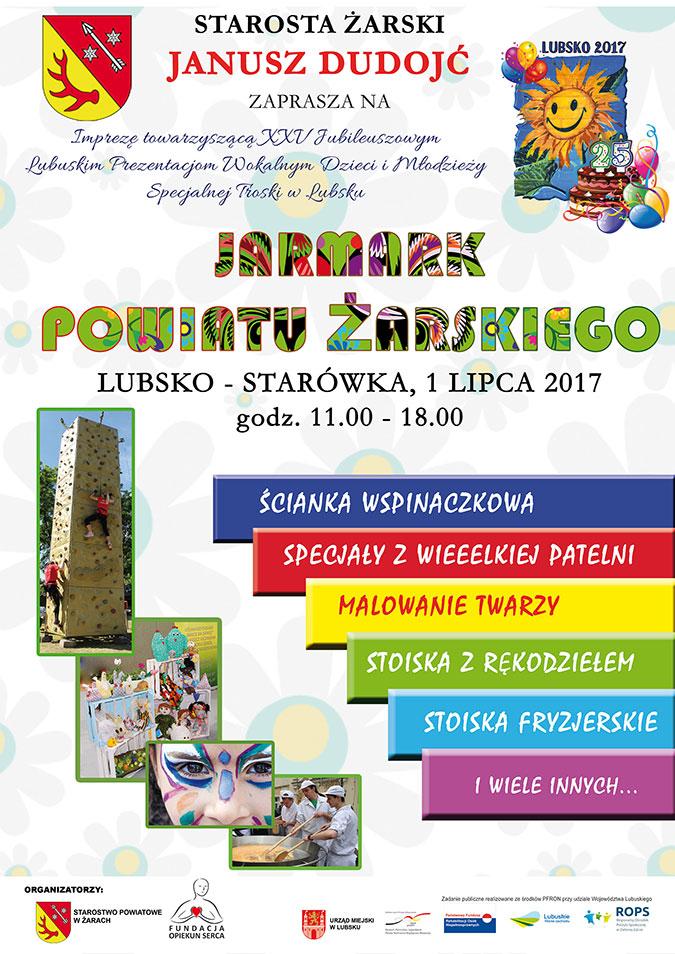 Ilustracja do informacji: Jarmark Powiatu Żarskiego