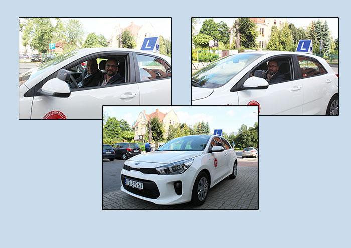 Ilustracja do informacji: Nowe auto do nauki jazdy w CKZiU w Żarach!