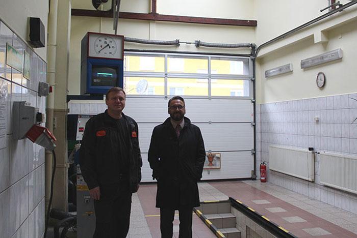 Ilustracja do informacji: Stacja diagnostyczna przy Zespole Szkół Technicznych wyremontowana!