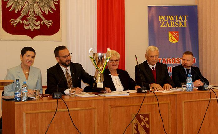 Ilustracja do informacji: XXXII sesja Rady Powiatu Żarskiego