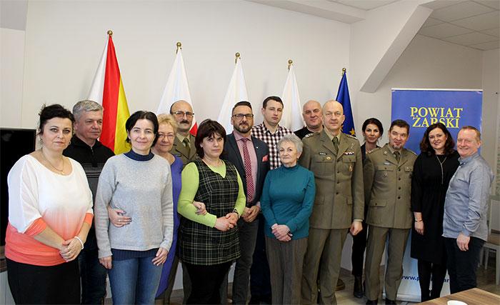 Ilustracja do informacji: Zakończenie kwalifikacji wojskowej w Powiecie Żarskim