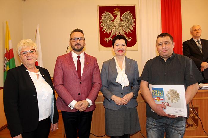 Ilustracja do informacji:  XXXVI sesja Rady Powiatu Żarskiego