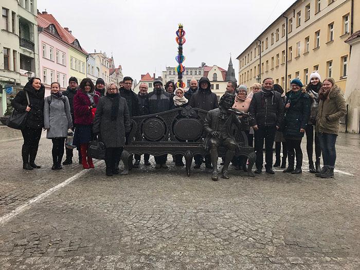 Ilustracja do informacji: Spotkanie Grupy Kierowniczej projektu Regional Management: Kompetencje i perspektywy zawodowe w polsko- saksońskim regionie przygranicznym