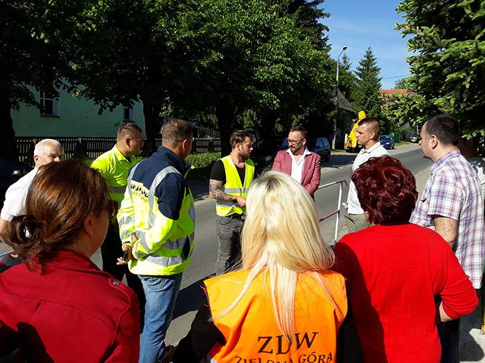 Ilustracja do informacji: Plac budowy przekazany! Rusza przebudowa drogi w Górzynie