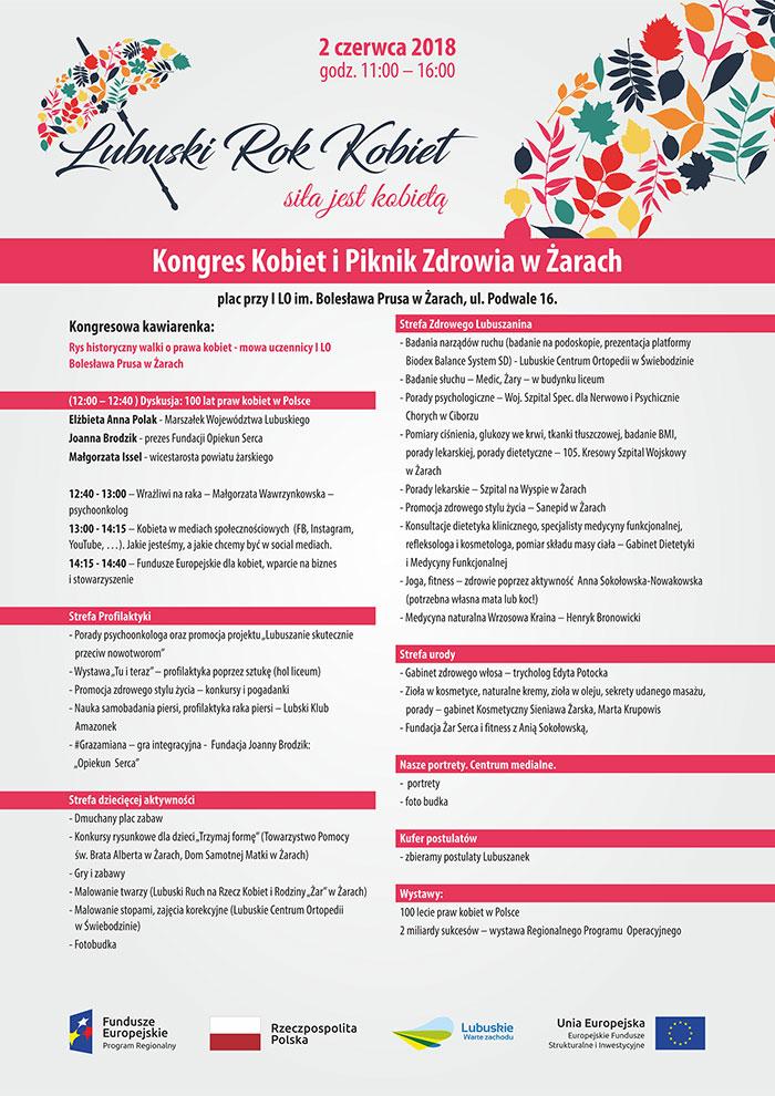 Ilustracja do informacji: Kongres Kobiet i Piknik Zdrowia