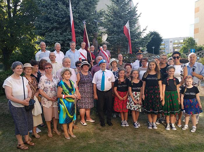 Ilustracja do informacji: Obchody 74. rocznicy wybuchu Powstania Warszawskiego