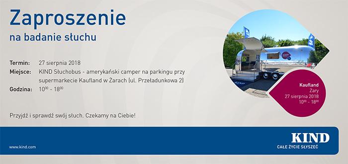Ilustracja do informacji: KIND Słuchobus w Żarach