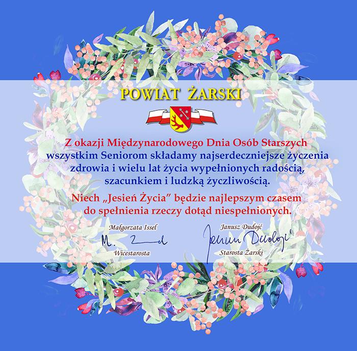 Ilustracja do informacji: Międzynarodowy Dzień Osób Starszych