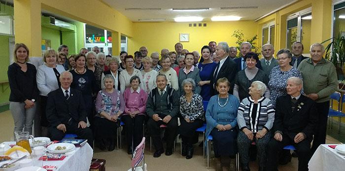 Ilustracja do informacji: Spotkanie opłatkowe Koła Związku Sybiraków w Żarach