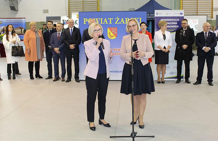 Ilustracja do informacji: XVII Targi Edukacyjne Powiatu Żarskiego