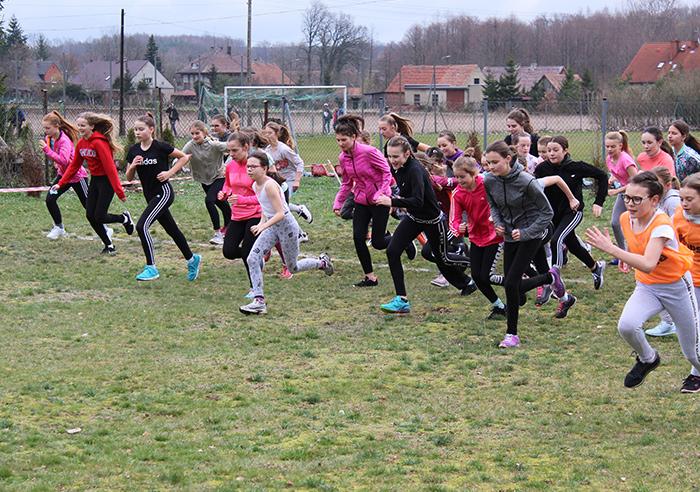 Ilustracja do informacji: Mistrzostwa Powiatu Żarskiego w drużynowych biegach przełajowych