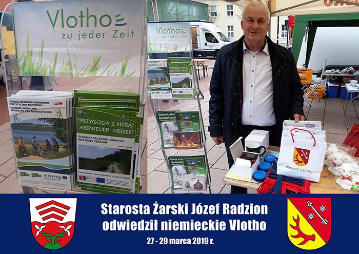 Ilustracja do informacji: Starosta Żarski Józef Radzion odwiedził niemieckie Vlotho