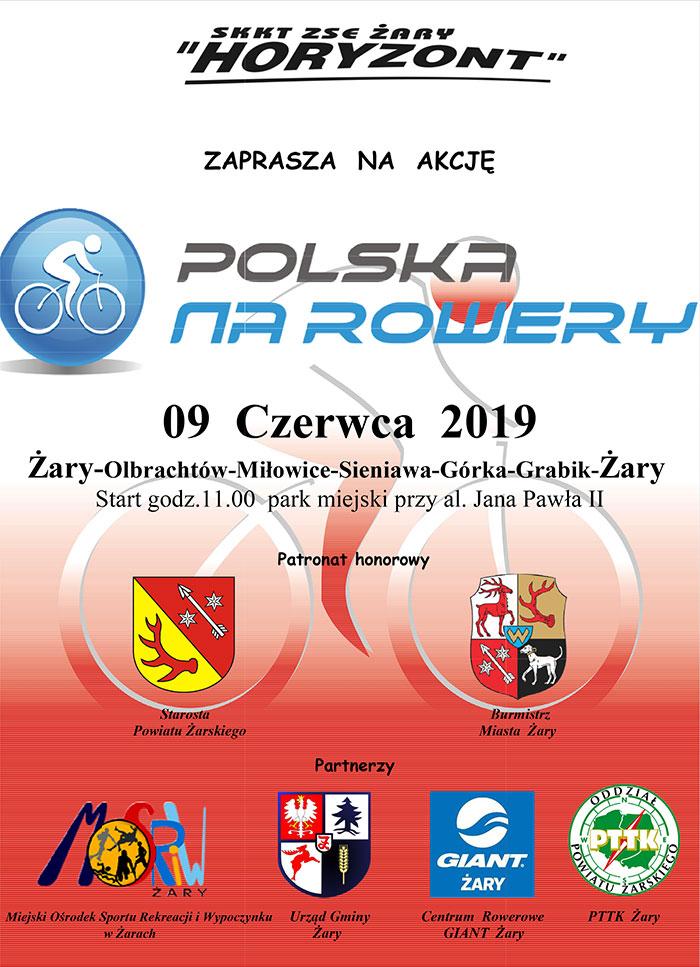 Ilustracja do informacji: POLSKA NA ROWERY 2019