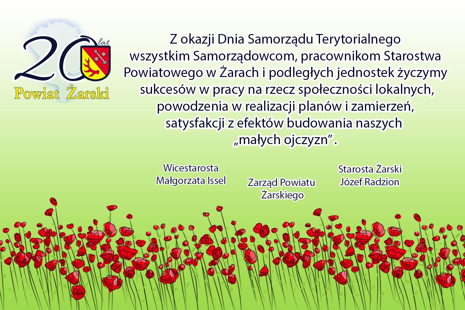 Ilustracja do informacji: Dzień Samorządu Terytorialnego
