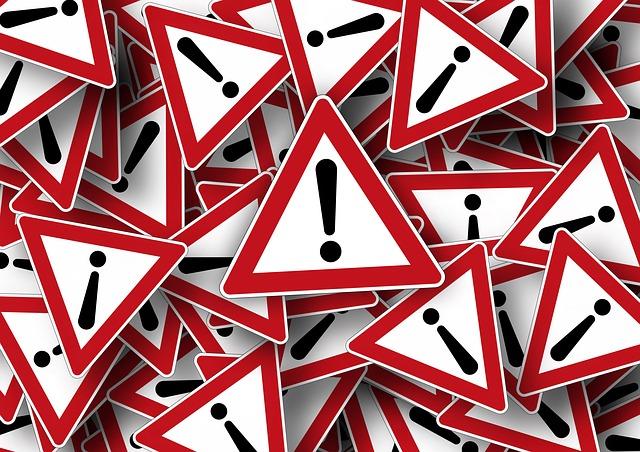 Ilustracja do informacji: Informacja o wprowadzeniu stopni alarmowych na terenie Polski