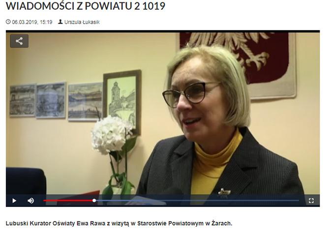 Ilustracja do informacji: WIADOMOŚCI Z POWIATU 2/2019