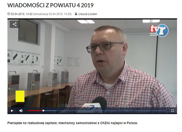 Ilustracja do informacji: WIADOMOŚCI Z POWIATU 4/2019