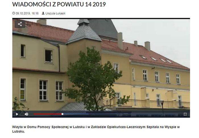 Ilustracja do informacji: WIADOMOŚCI Z POWIATU 14/2019