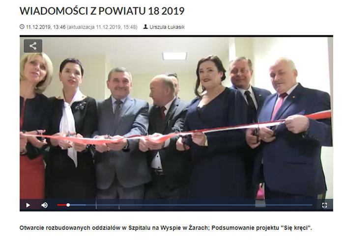 Ilustracja do informacji: WIADOMOŚCI Z POWIATU 18/2019