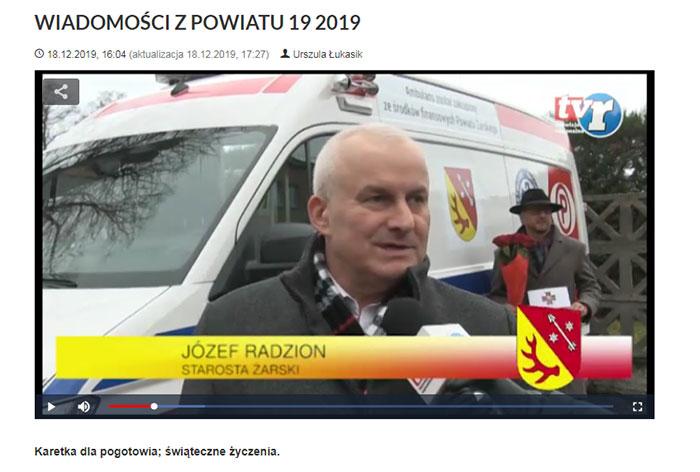 Ilustracja do informacji: WIADOMOŚCI Z POWIATU 19/2019