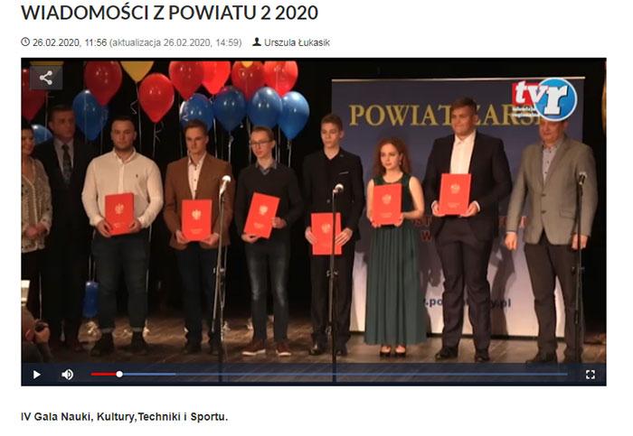 Ilustracja do informacji: WIADOMOŚCI Z POWIATU 2/2020