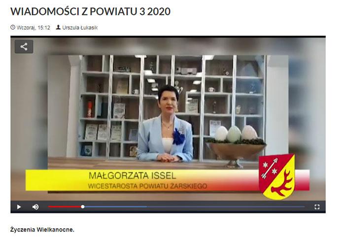 Ilustracja do informacji: WIADOMOŚCI Z POWIATU 3/2020