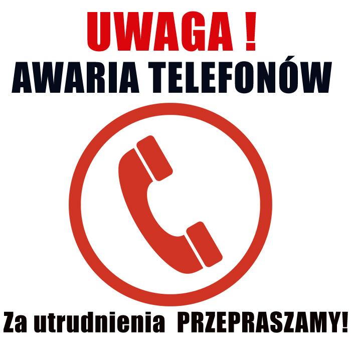 Ilustracja do informacji: Awaria sieci telefonicznej