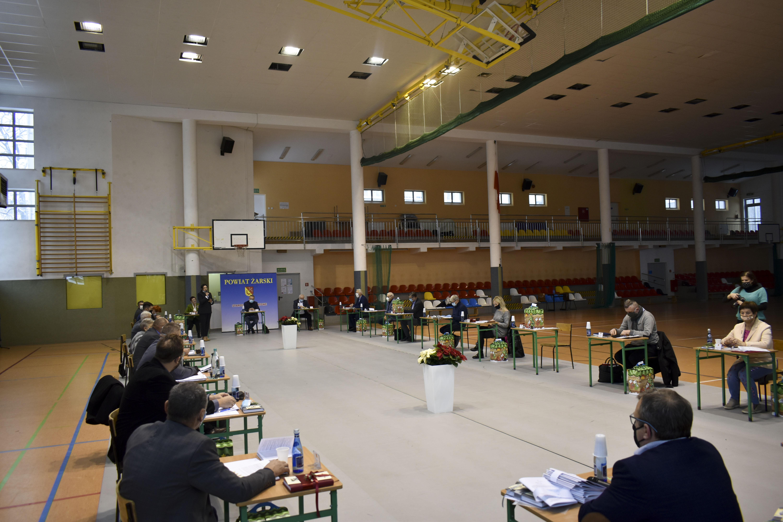 Ilustracja do informacji: Wspólne posiedzenie komisji Rady Powiatu Żarskiego
