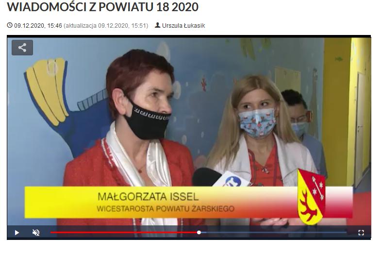 Ilustracja do informacji: WIADOMOŚCI Z POWIATU 18/2020