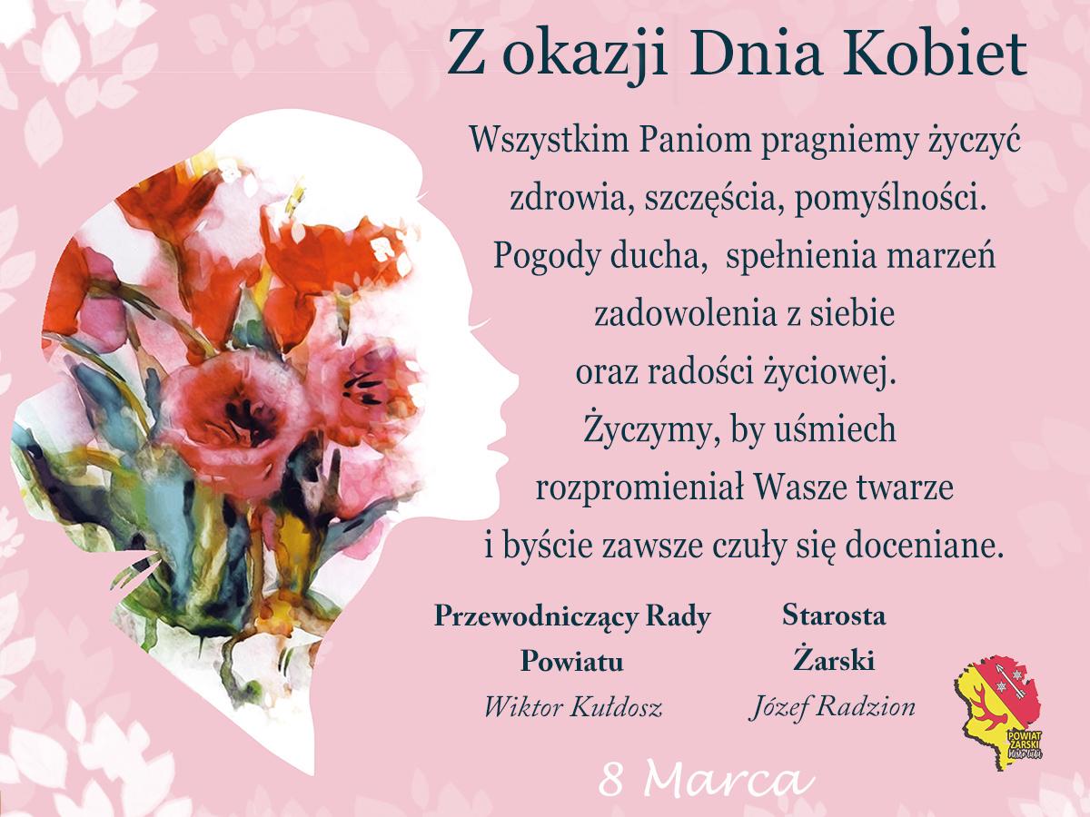 Ilustracja do informacji: 8 marca Dzień Kobiet