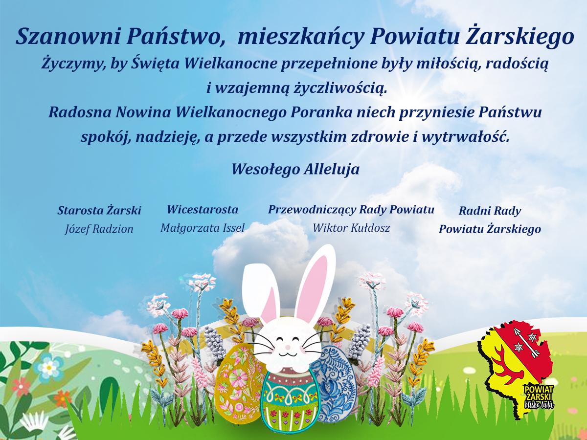 Ilustracja do informacji: Życzenia Święta Wielkanocne 2021