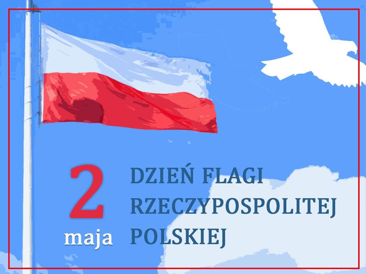 Ilustracja do informacji: 2 Maja Dzień Flagi