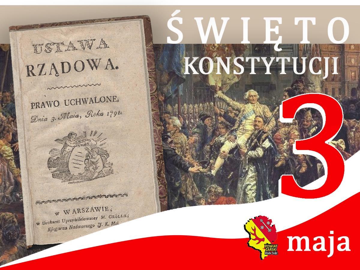 Ilustracja do informacji: 3 Maja Święto Konstytucji