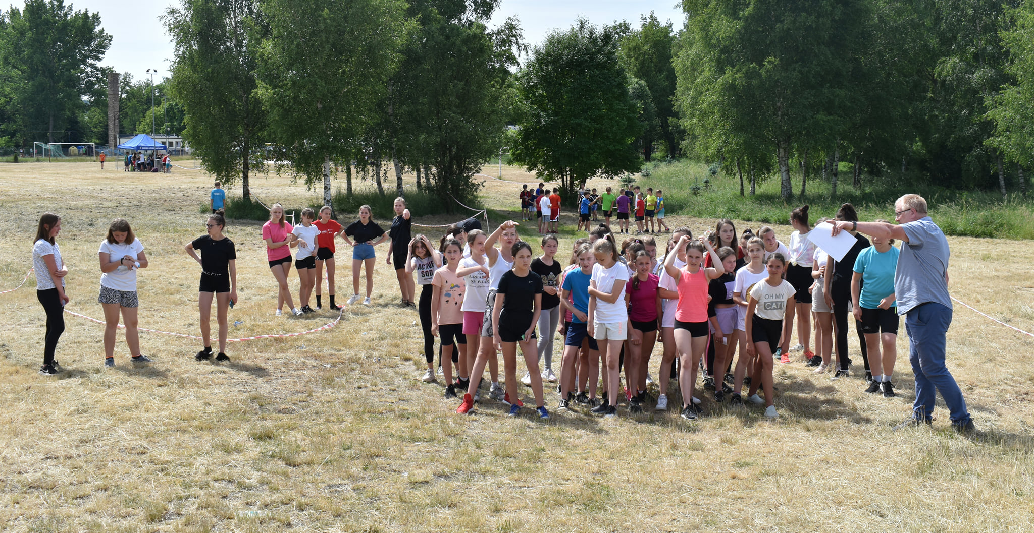 Ilustracja do informacji: Powiatowa Olimpiada Młodzieży - Biegi Przełajowe