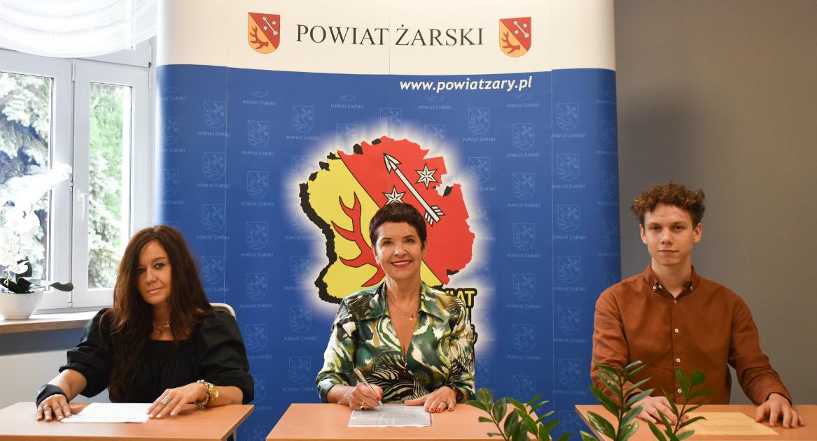 Ilustracja do informacji: Spotkanie z przedstawicielem Stowarzyszenia Youth Forest - Młodzi dla Lubuskiego