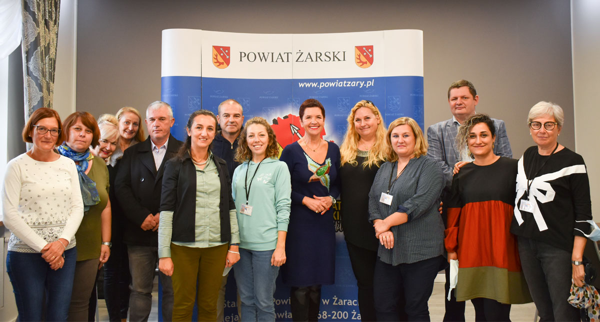 Ilustracja do informacji: Spotkanie z nauczycielami szkół Grecji, Chorwacji, Włoch i Turcji w ramach projektu ERASMUS +
